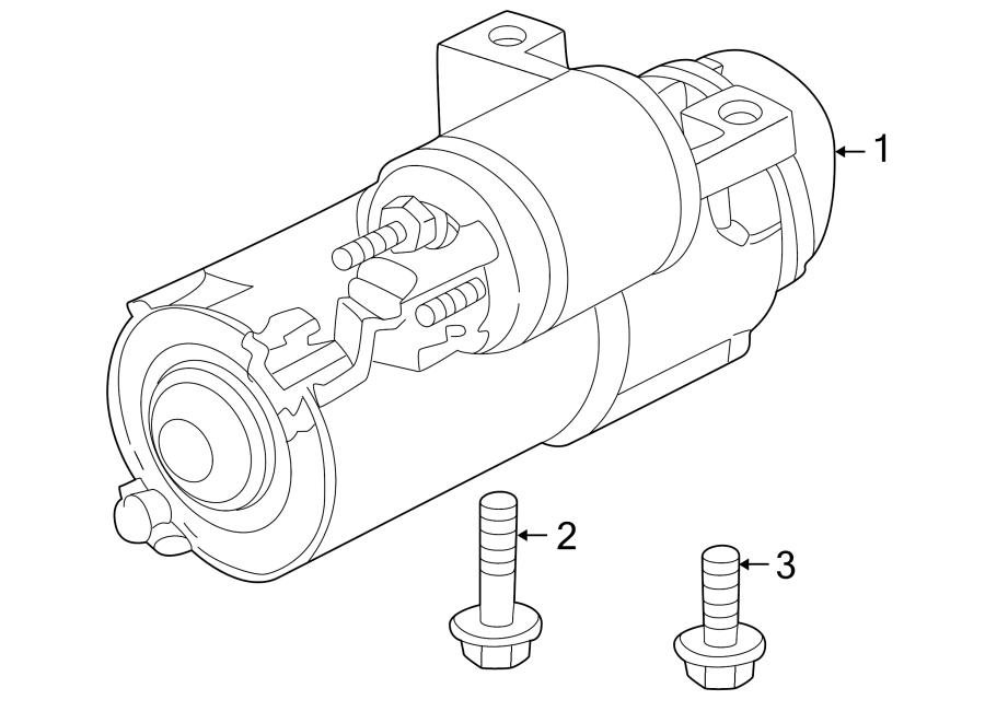 Pontiac Aztek Remanufactured starter. Starter assembly
