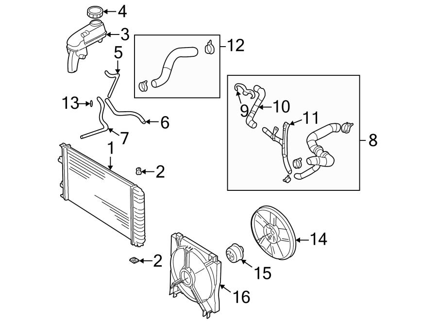 Pontiac Sunfire Engine Coolant Pipe Adapter. 2.2 LITER W