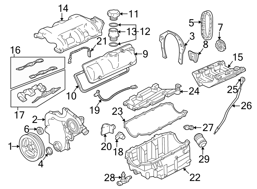 [DIAGRAM] 2001 Pontiac Aztek Engine Diagram FULL Version