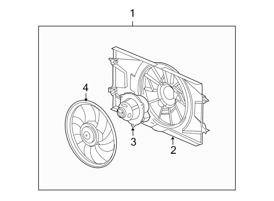 Pontiac G5 Engine Cooling Fan Assembly. 2.2 LITER. Cobalt