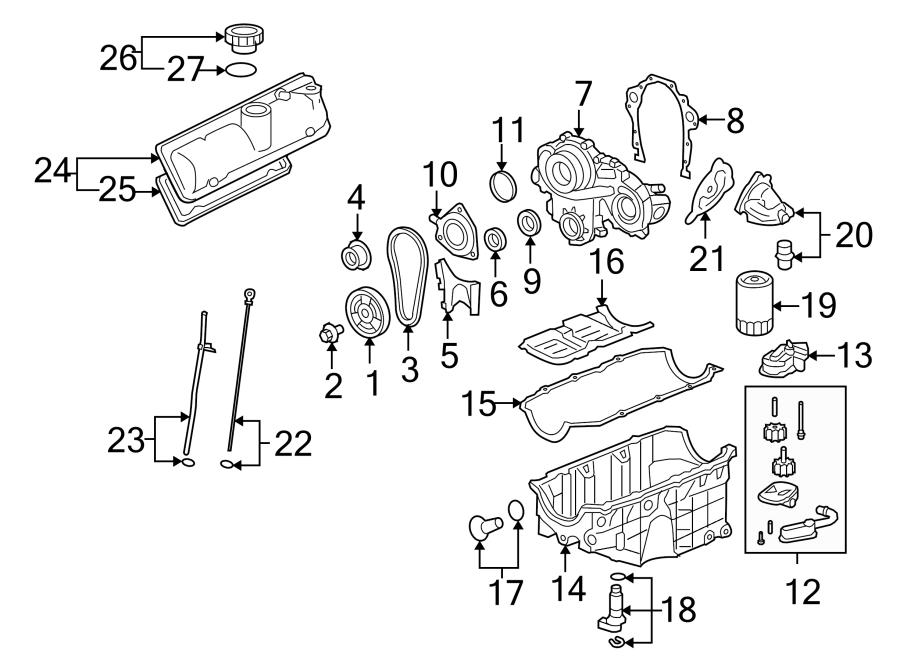 Pontiac G6 Engine Variable Valve Timing (VVT) Solenoid