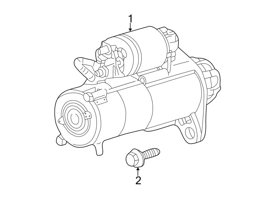 Pontiac Grand Am Bolt. Compressor. (Rear). 2.2 LITER. 2.4