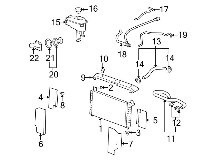Chevrolet Suburban 1500 Hvac heater hose. Make, liter