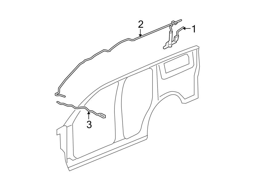 Chevrolet Suburban 1500 Antenna Cable. W/O DIGITAL AUDIO