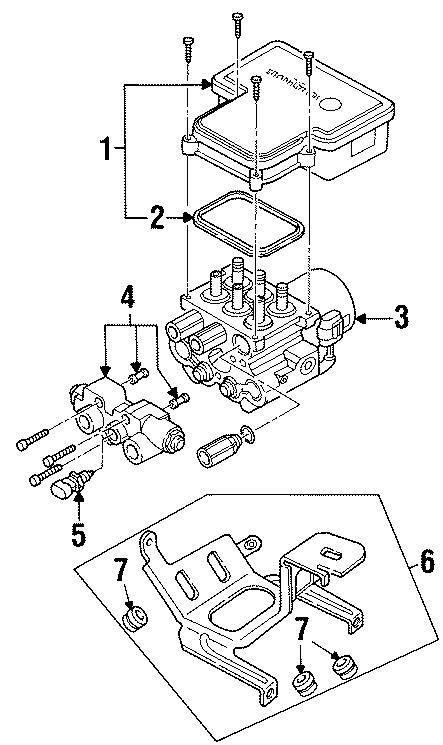 Chevrolet K1500 Suburban Brake Proportioning Valve
