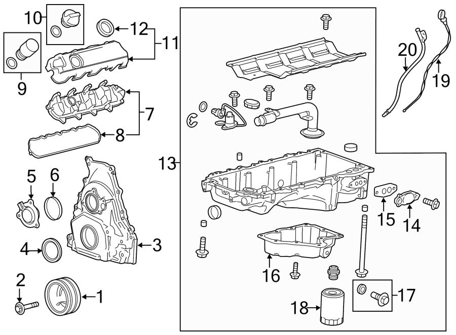 Cadillac Escalade Ignition Coil Cover. 5.3 & 6.2 LITER