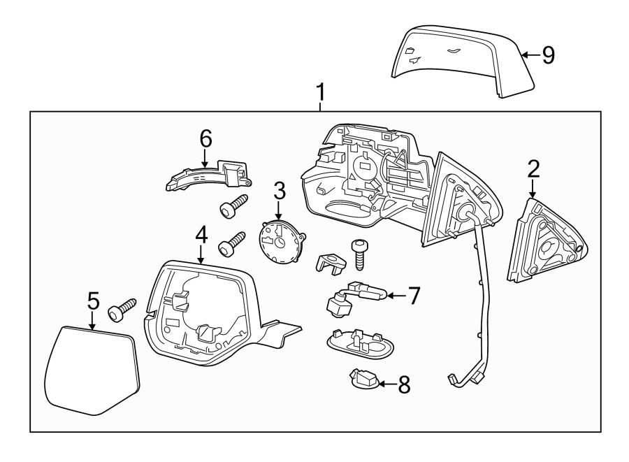 Cadillac Escalade Turn Signal Light Assembly. ESCALADE