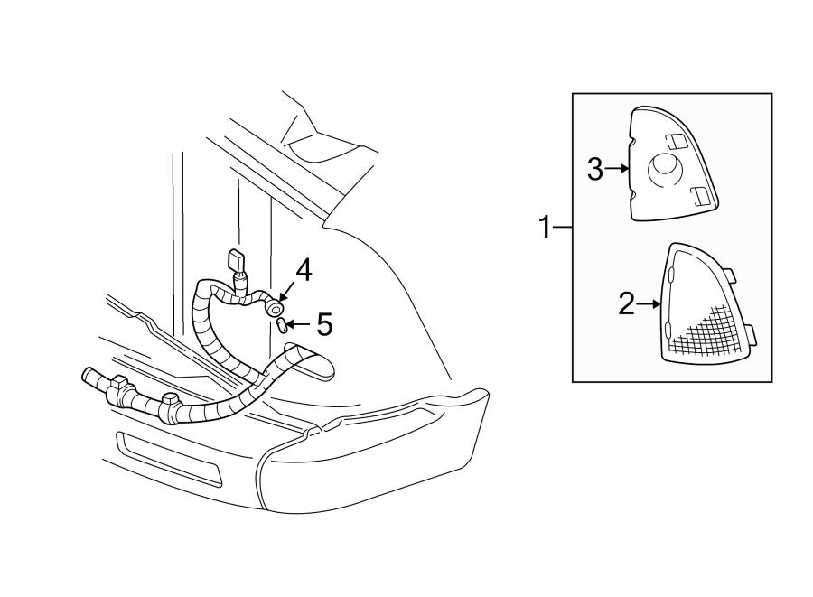 97 S10 Headlight Wiring Diagram / C1CA44 1988 Chevy S10