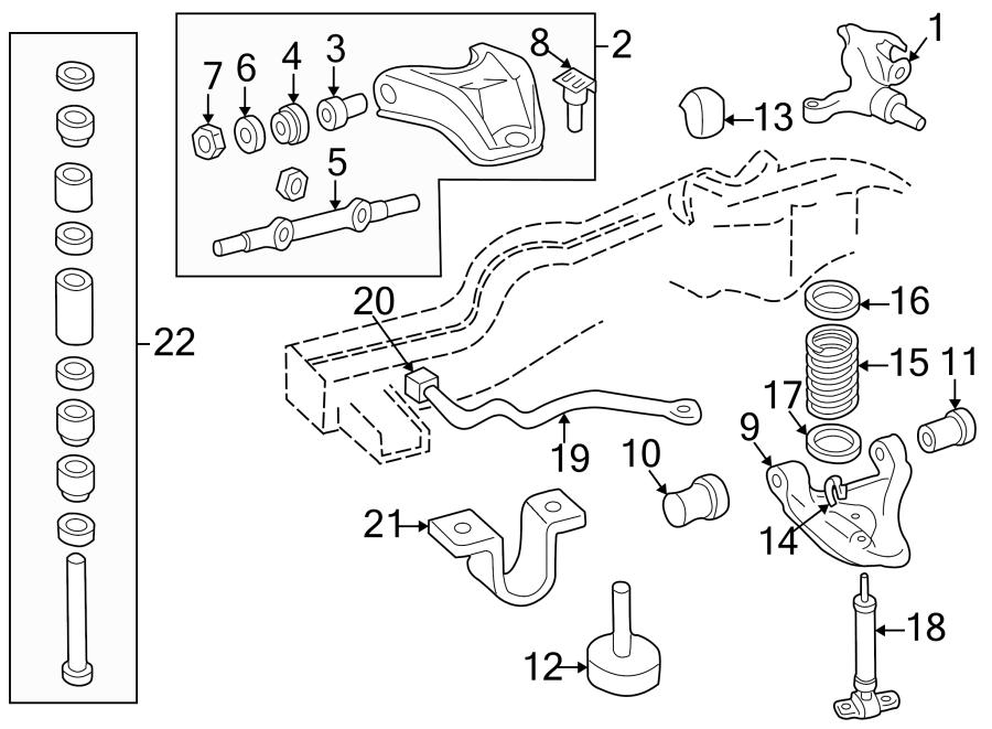 GMC Sonoma Stabilizer. Link. Bar. (Front). 2WD. Bracket