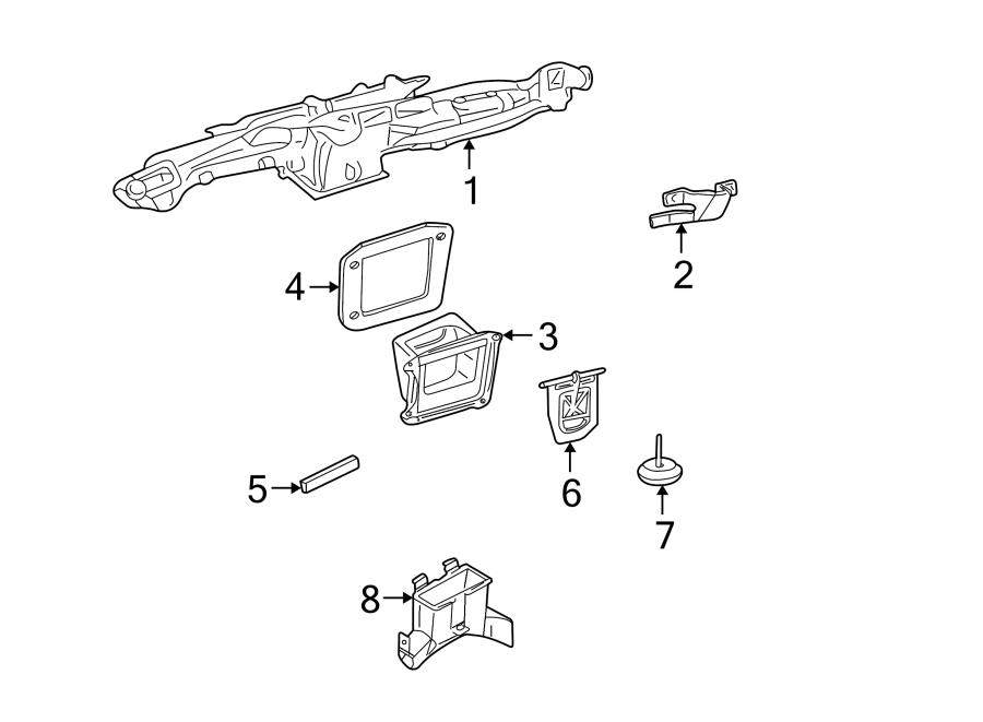 Chevrolet S10 Hvac air adjustment control motor. 1998-04