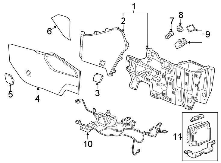 Chevy Trailblazer Body Parts Diagram / Chevrolet