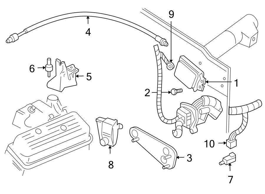 Chevrolet Blazer Lighting Control Module Connector. Stop