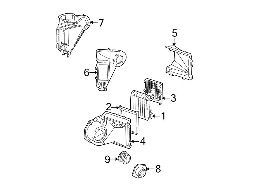 GMC S15 Hvac blower motor. Air, heater, conditioner