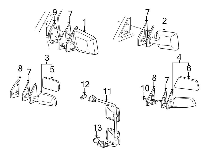 Chevrolet Astro Door Wiring Harness. Door lock, window