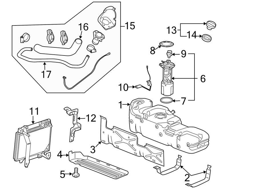 Chevrolet Silverado 3500 HD Module. Fuel. Pump. Kit