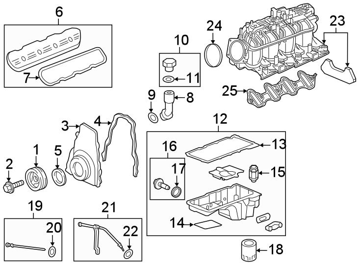 Chevrolet Silverado 1500 Fuel Injection Throttle Body