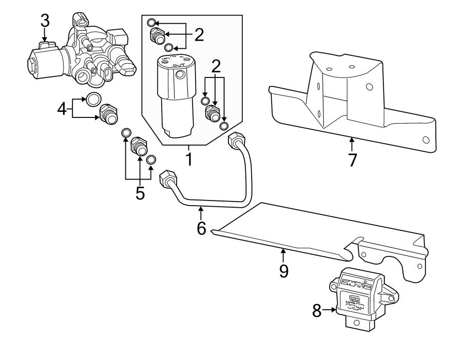 Chevrolet Silverado 2500 HD Fuel Pump Driver Module