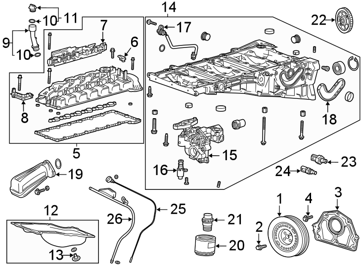 Chevrolet Spark Engine Oil Pressure Switch. LITER, Cooling