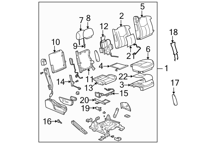 GMC Sierra 2500 HD Classic Power Seat Wiring Harness