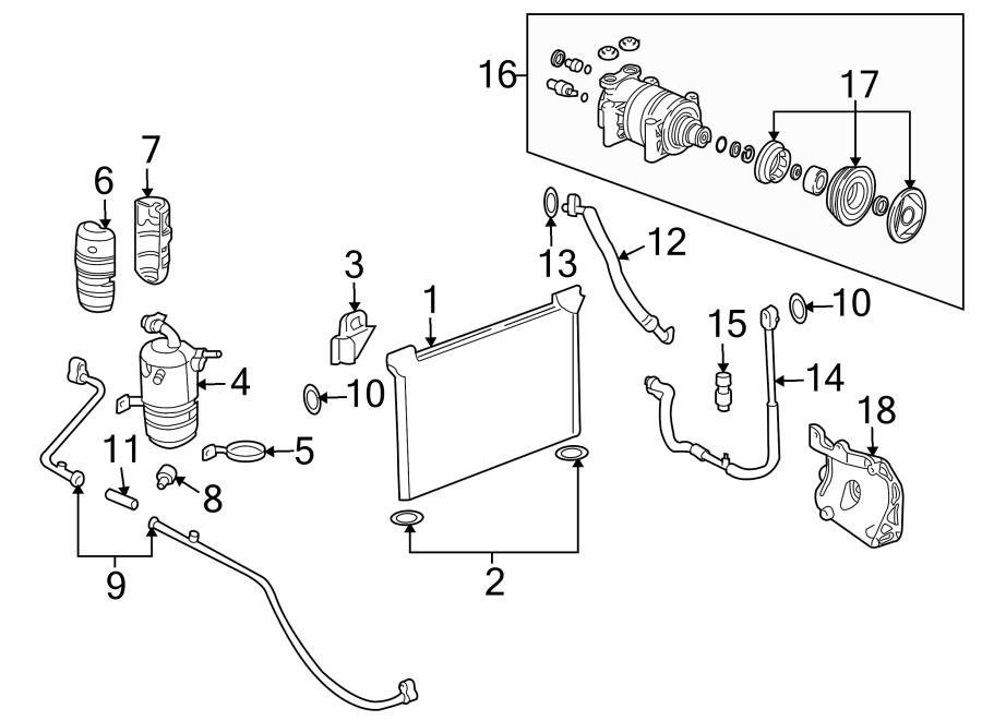 Chevrolet K1500 Suburban Switch. Pressure. AS. Air