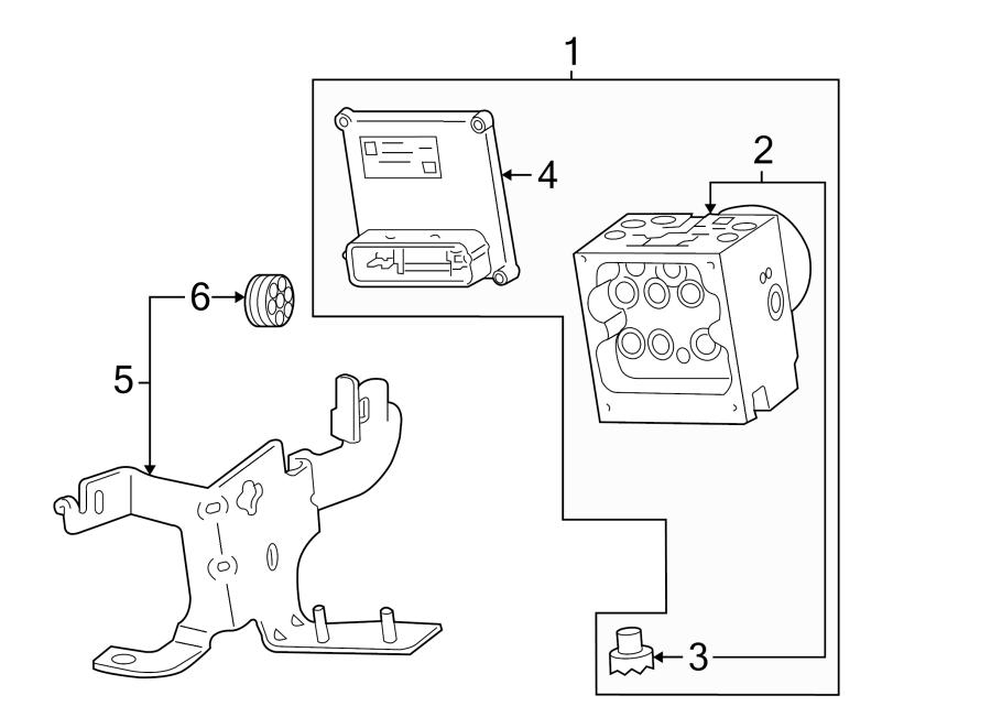 GMC Envoy Abs control module. Abs control module. Module