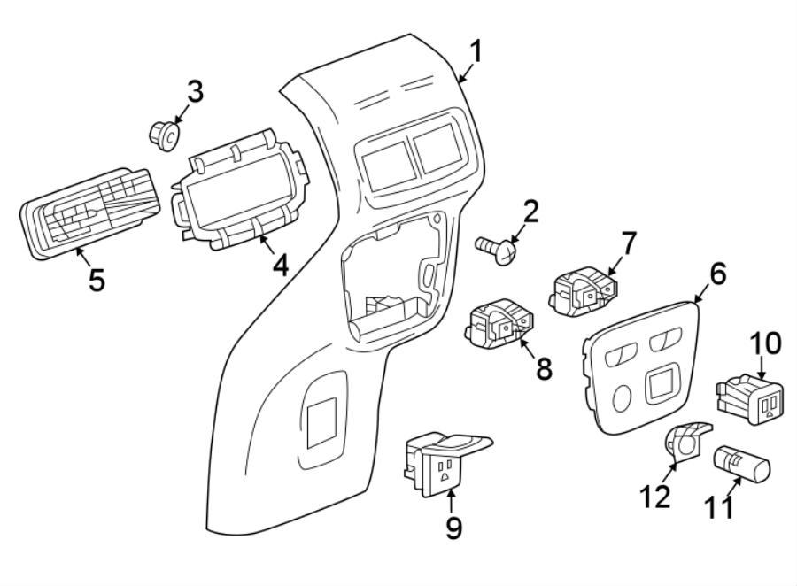 Chevy Equinox Body Parts Diagram / Chevrolet Equinox