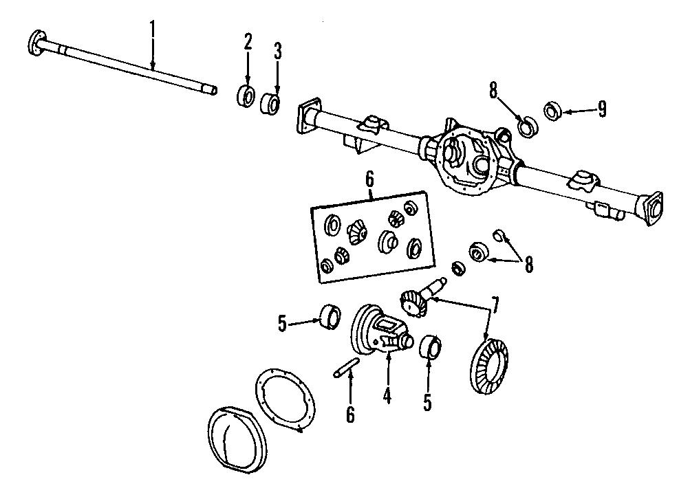 Chevrolet Camaro Gear kit. Ring and pinion. 3.73 ratio