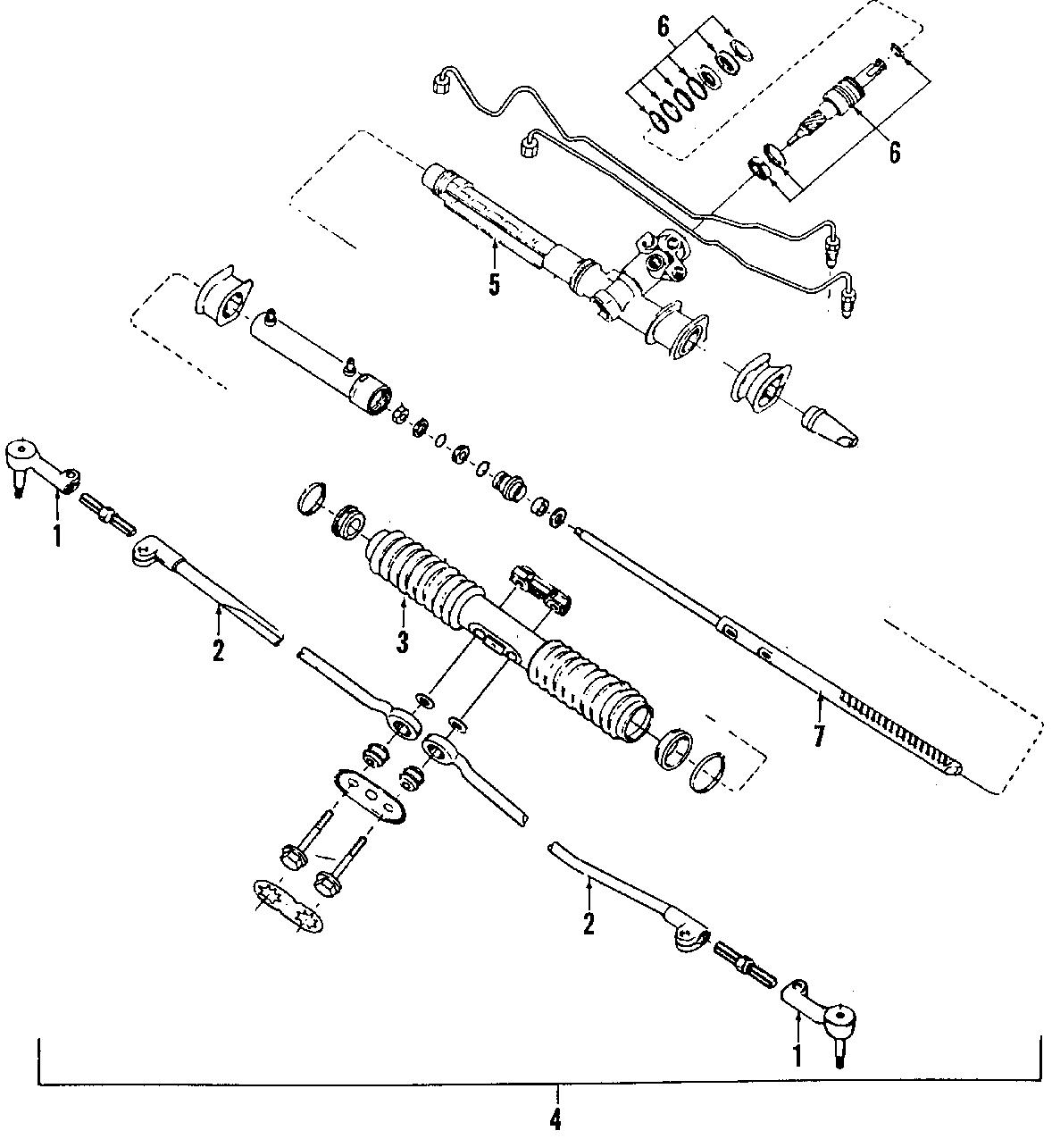 Pontiac Steering Column Bearing Upper