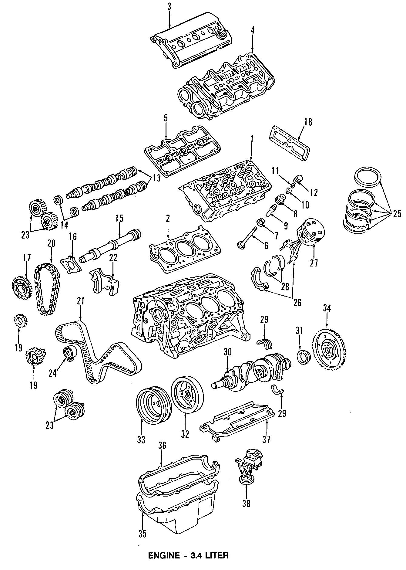 Chevrolet Monte Carlo Engine Valve Stem Oil Seal. Valve