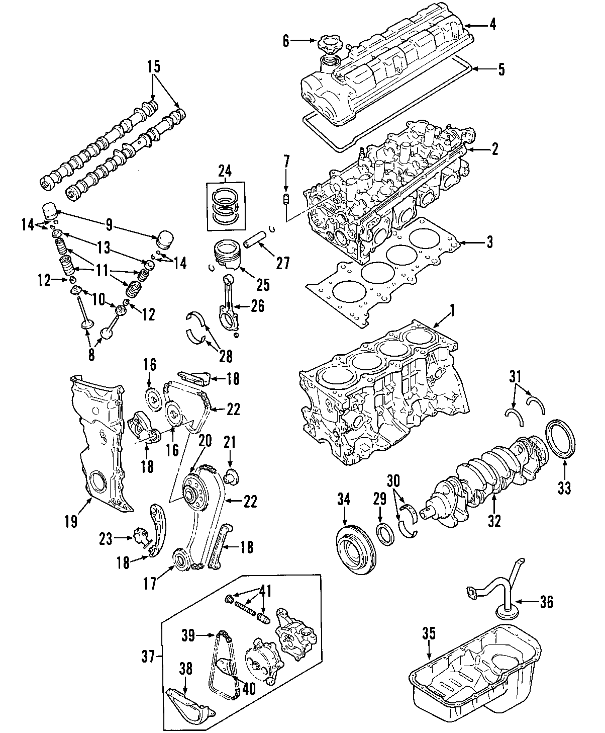Chevrolet Tracker Engine Timing Cover 2 0 Liter Tracker