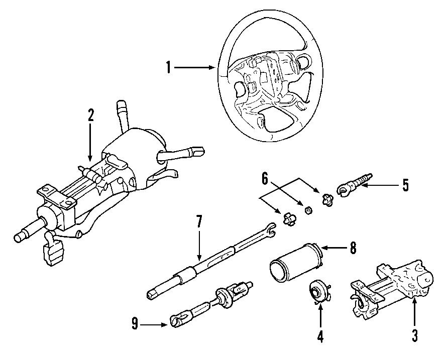 Chevrolet Corvette Steering Wheel. Voice, Control, Manual