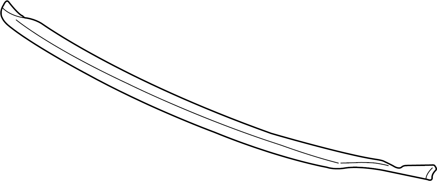 Pontiac Grand Prix Windshield. Seal. Strip. Frame weather