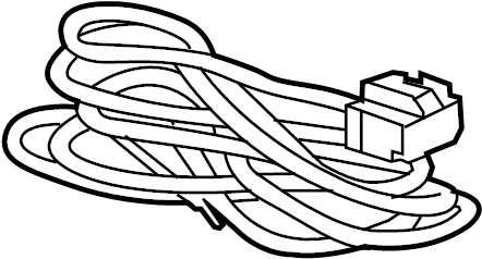 Chevrolet Traverse Harness. Extension. Connector. Wire