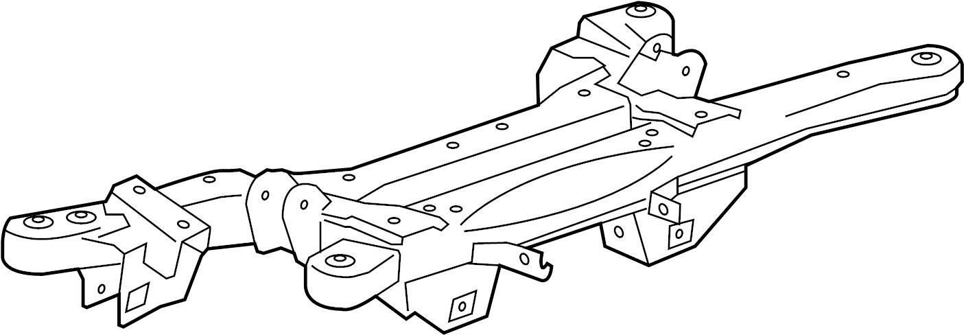 Buick Regal Suspension Subframe Crossmember (Rear