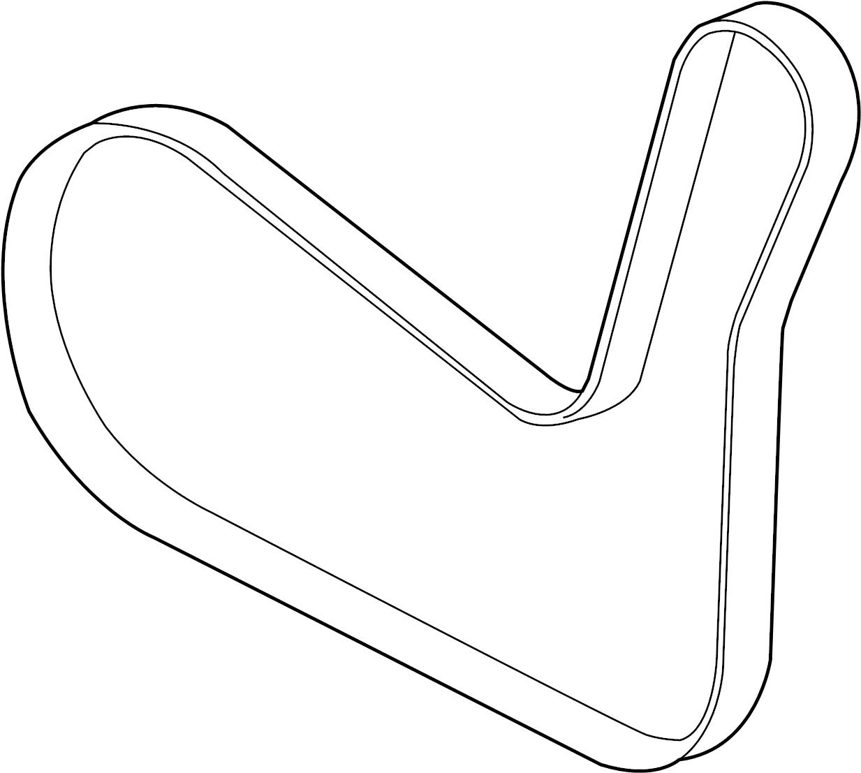 Chevrolet Malibu Serpentine Belt