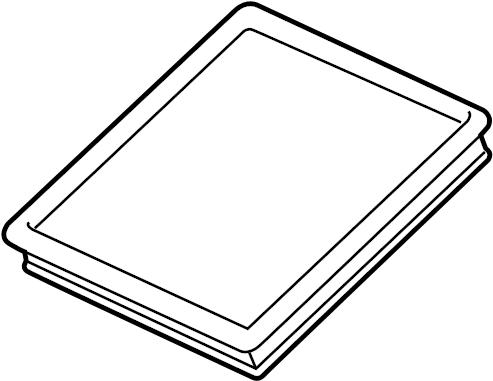 Buick Regal Air Filter. 2.0 LITER TURBO. 2.0 LITER TURBO