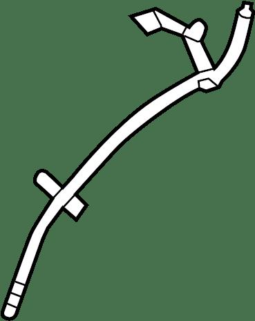 Buick Regal Engine Oil Dipstick Tube. 2.0 LITER TURBO. 2.0