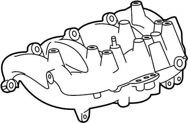 Buick Regal Engine Intake Manifold. 2.0 LITER TURBO. 2.0