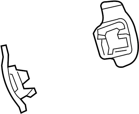 Chevrolet Camaro Steering Wheel Transmission Shift Control