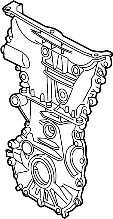 Chevrolet Malibu Engine Timing Cover (Front). 1.8 LITER