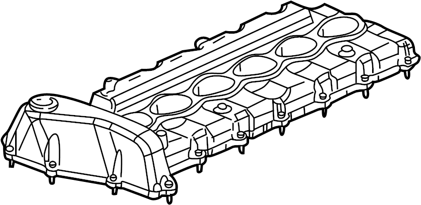 Chevrolet Trailblazer Engine Valve Cover. 4.2 LITER. All