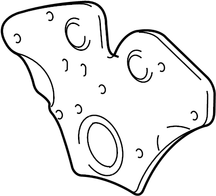 Cadillac Catera Engine Timing Cover (Front). 3.2 LITER