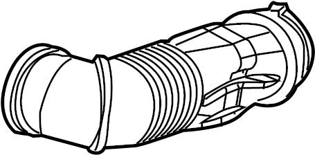Cadillac CTS Engine Air Intake Hose. 5.7 & 6.0 LITER