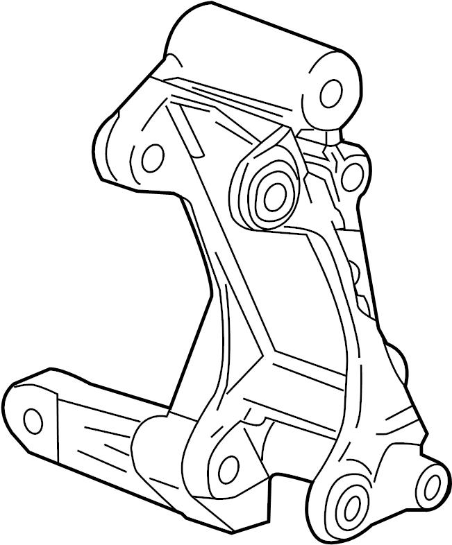 Chevrolet Camaro Alternator Bracket. 6.2 LITER. 6.2 LITER