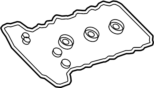 GMC Acadia Engine Valve Cover Gasket. Right, LITER, TWIN