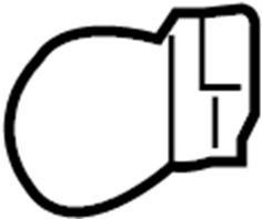 Chevrolet Tahoe Bulb. Signal. Turn. Light. (Front