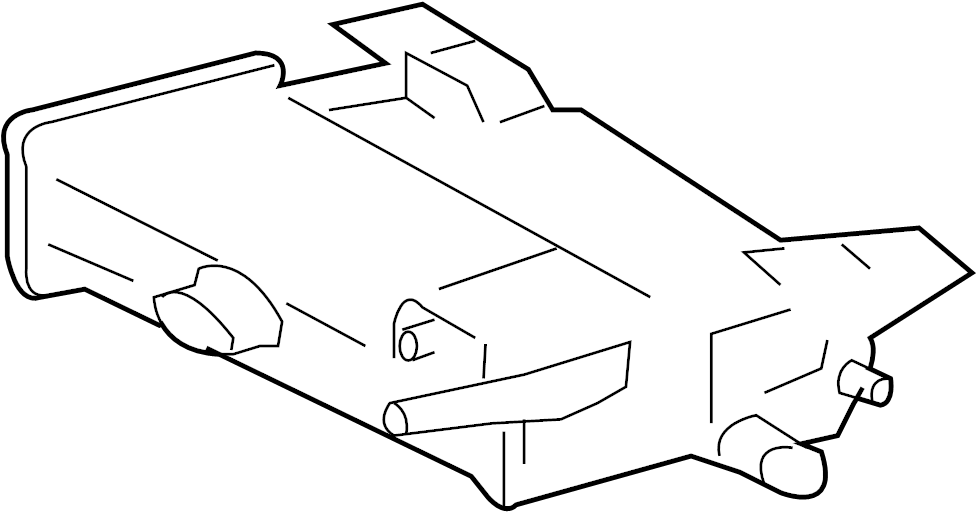 Cadillac SRX Vapor Canister. CANISTER ASSEMBLY, EVAPORATOR