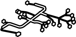 Cadillac SRX Power Seat Wiring Harness. DRIVER SEAT, w