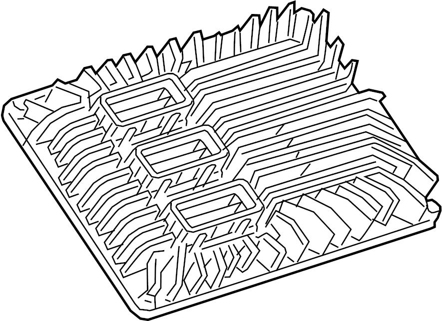 Chevrolet Silverado 1500 Engine Control Module. 2.0 LITER
