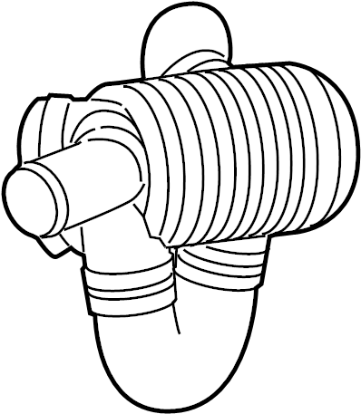 Cadillac CTS Engine Air Intake Hose. 6.2 LITER. Coupe, 6.2
